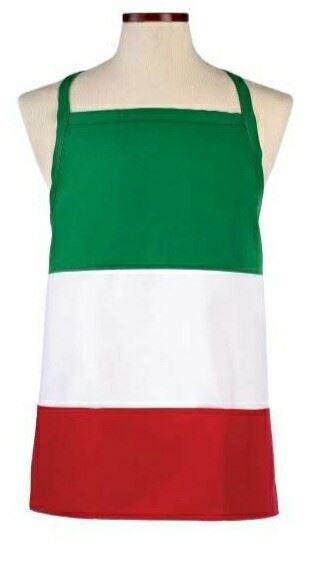 b0194669f2f Delantal italiano tricolor - Delantales de cocina